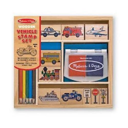 Dřevěná razítka- Dopravní prostředky