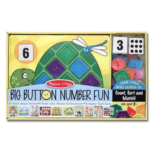 Knoflíková legrace z čísly