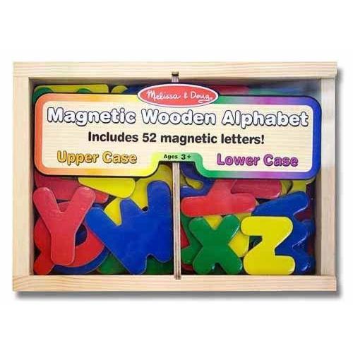 Dřevěná magnetická abeceda