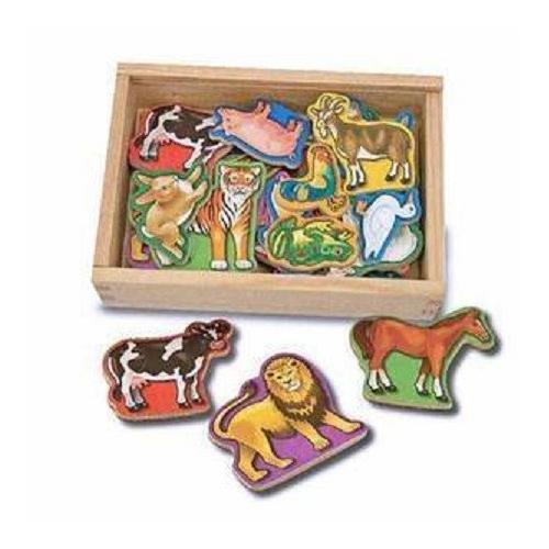 Dřevěné magnety- Zvířata