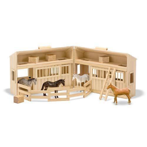 Dřevěná koňská farma- Vem s sebou