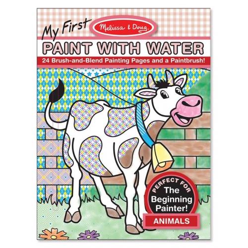 Maluj s vodou- zvířata