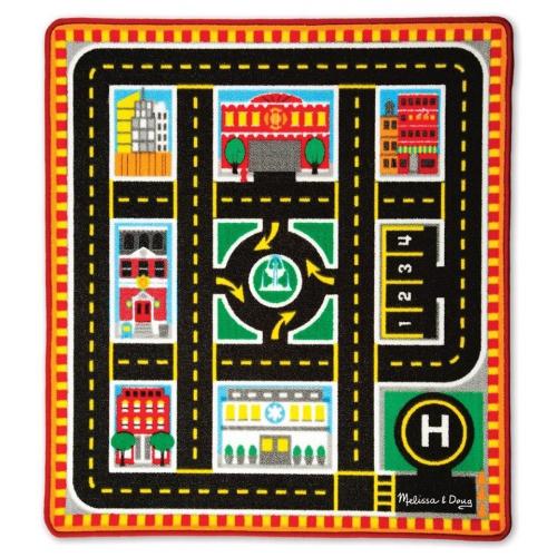 Hrací kobereček- město