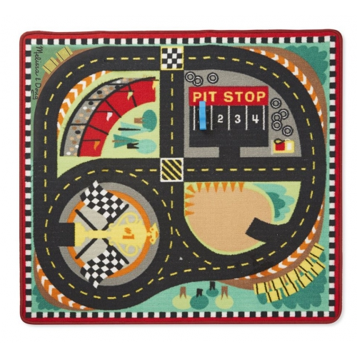 Hrací kobereček- závodní dráha