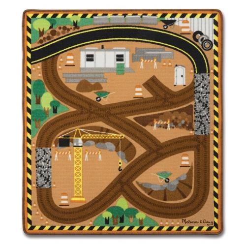 Hrací kobereček- staveniště