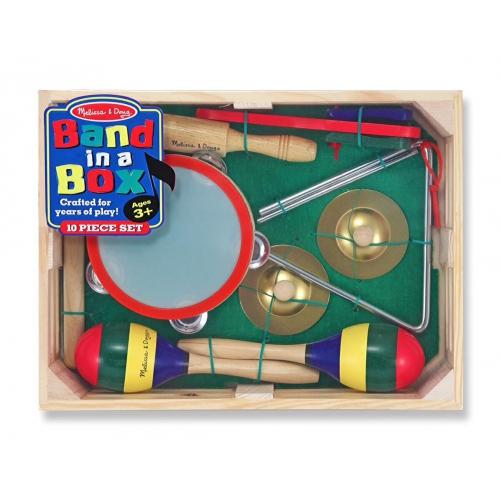 Bedýnka s hudebními nástroji