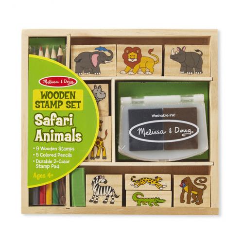 Dřevěná razítka - Safari