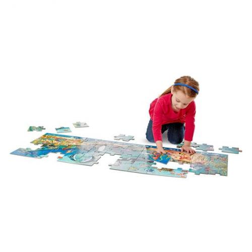 Podlahové puzzle Pod vlnami