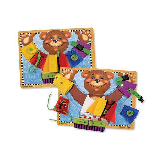 Dřevěná tabule s medvědem
