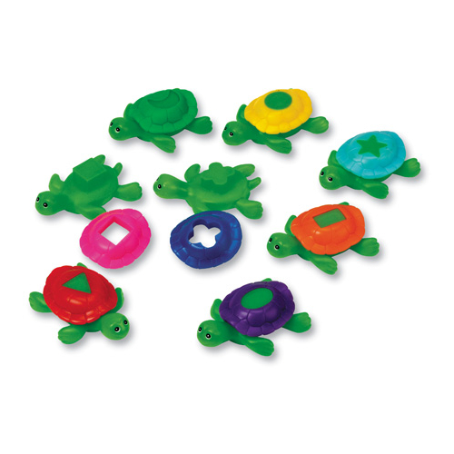 Vodní želvy - přiřaď správný krunýř