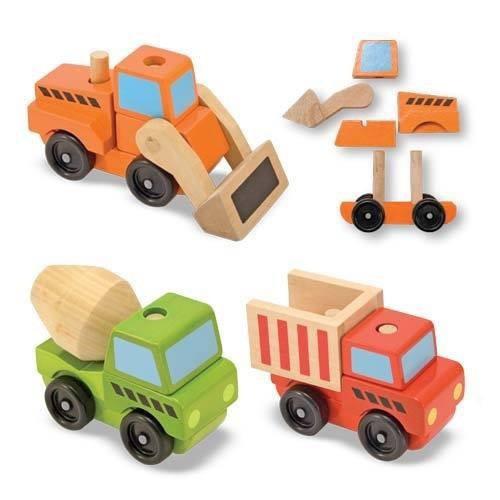 Dřevěná nákladní auta- sada